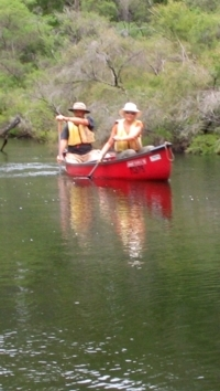 Canoeing the Blackwood River