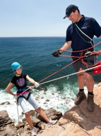 Abseiling Instructors are fully qualified and experienced.